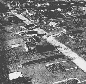 Hurricane Carol - Image: Westerly, Rhode Island after Carol storm surge