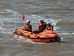 Weston-super-Mare inshore rescue boat D696 Anna Stock.jpg