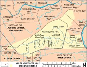 Deer creek lodges bottom region map