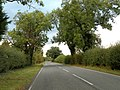 Whittlesford Road, heading towards Newton village - geograph.org.uk - 1557117.jpg