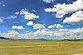 Widoki mongolskiego krajobrazu widziane z minibusa Karakorum - Ułan Bator (27).jpg