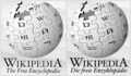 Wikipedia logo comparative english german.png