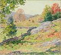 Willard Leroy Metcalf - Hillside Pastures—September (1922).jpg