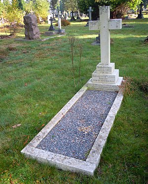 William Addison (VC) - Addison's grave in Brookwood Cemetery
