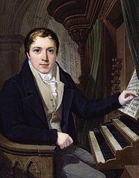 Portrait (1815), watercolour on ivory, of William Beale (1784–1854) by Charles John Robertson (born 1779?) (Source: Wikimedia)