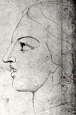 William Blake, Visionary Head of Corinna The Theban Detail2-sm.jpg
