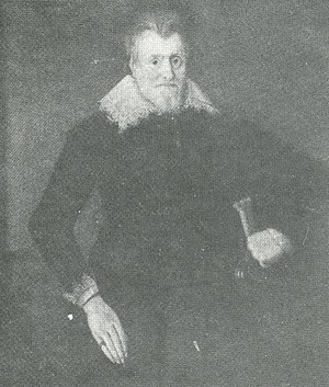 Bramall Hall - The fifth William Davenport in 1627, at the age of 65