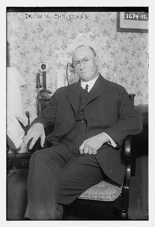 William Whitney Christmas in 1915