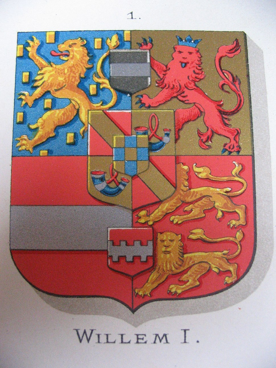 William the Silent-Coat of arms