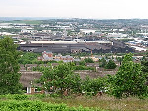 Shiregreen and Brightside - Wincobank - Don Valley from Fort