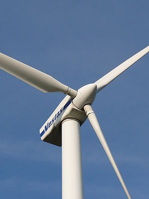 A Vestas Wind Turbine