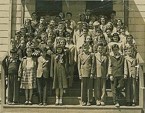 Winfield Township, New Jersey - Winfield Township School 5th Grade Class 1948–1949, Winfield Township, New Jersey.