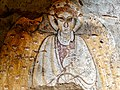 Winged angel, fresco at a Medieval church, Old Dongola site, Sudan.jpg