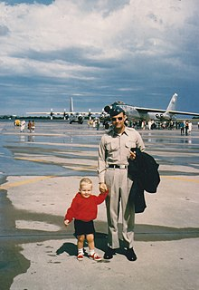 Wolf and Charles Samuel Forbes AFB KS 1964.jpg