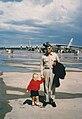 Wolf and Charles Samuel Forbes AFB KS 1964.jpg