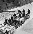 Women's Street Cleaning Brigade- Female Dustmen at Work, London, 1942 D8942.jpg