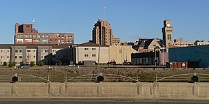 Sioux City, Iowa - Sioux City skyline.