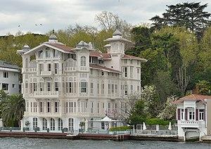 Yeniköy, Sarıyer - The yalı of Afif Pasha in Yeniköy was designed by Alexander Vallaury.