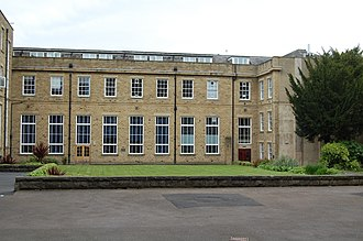 Woodhouse Grove School - Boarding accommodation can be seen on the top floor above classrooms