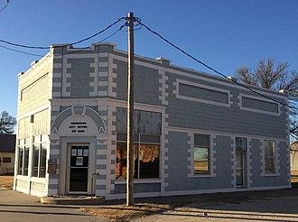 Woodston, Kansas - Woodston City Office est 1910 (2016)