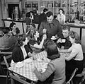 Workers Welfare at a Royal Ordnance Factory- Life at Rof Bridgend, January 1942 D6350.jpg