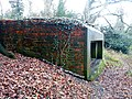 World War II field artillery emplacement, Moor Park, Farnham 01.jpg