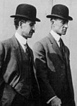 Wright Brothers in 1910 crop.jpg
