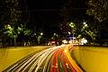Wushan Road automobile light trails.jpg