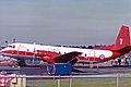 XS610 HS.780MF Andover E.3 Hawker Siddeley(RAF) Farnborough SEP86 (12609437703).jpg