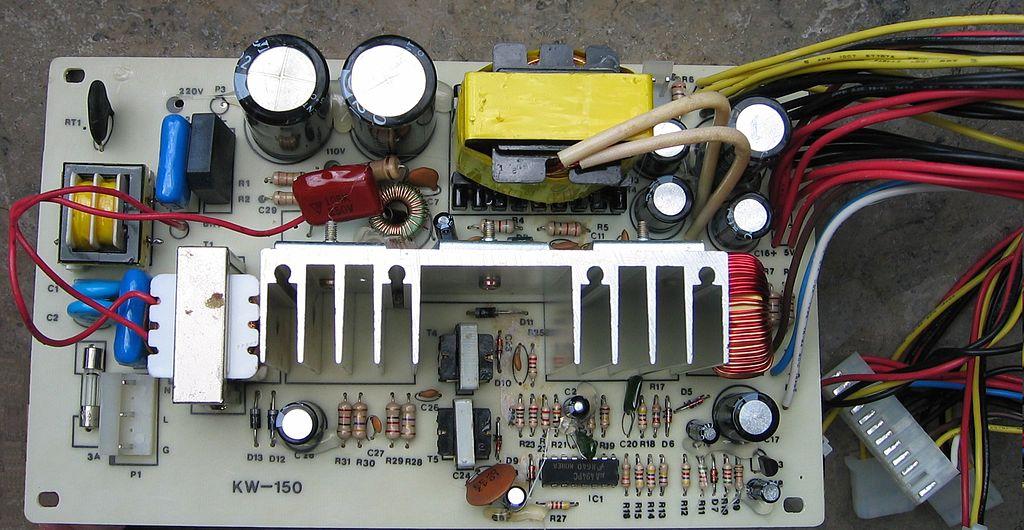 File Xt Pc Power Supply Psu Pcb Img 0435 Jpg Wikimedia