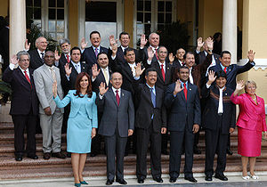 Presidentes de América Latina en la XX Cumbre ...