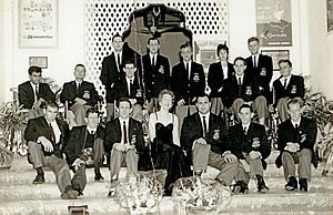 Australia at the 1960 Summer Paralympics - Australian Team in Singapore on their way to the Games