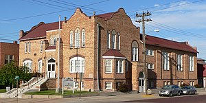 National Register of Historic Places listings in Red Willow County, Nebraska - Image: YMCA (Mc Cook, Nebraska) from NE 2