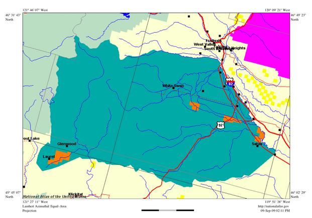 FileYakima Indian Reservation Mappng Wikimedia Commons - Indian reservation map us