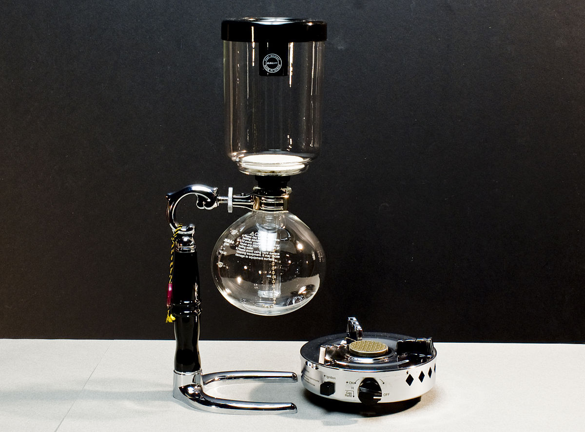 Vacuum Coffee Maker Metal : Vacuum coffee maker - Wikipedia