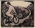Yasunori taninaka, andando in bici d'estate, 1937-39 ca.jpg