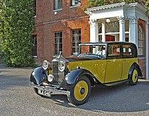 Yellow Rolls Royce, Capel Manor, Bulls Cross, Enfield - geograph.org.uk - 842044.jpg
