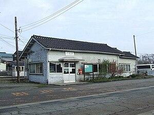 Yokoyama Station (Ishikawa) - Station building