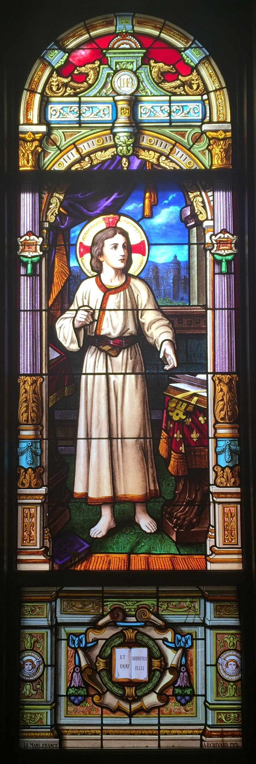 Young Christ- StEds Hall (Notre Dame)