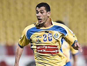 Younis Mahmoud - Younis Mahmoud playing for Al-Gharafa in 2009.