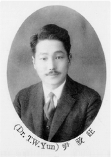 Yun Chi-wang, severance college's yearbooks 1929.png