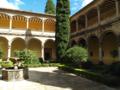 Yuste. Vista del claustro renacentista..TIF