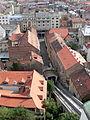 Zagreb Funicular down from Gradec (2008).jpg