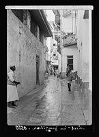 Zanzibar. Narrow street in the town LOC matpc.17667.jpg