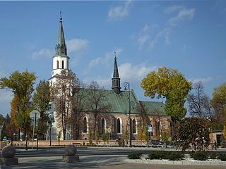 Ropczyce Market Town in Subcarpathian Voivodeship, Poland