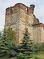 Ziemięcice, ruiny kościoła św. Jadwigi, widok od pd-zach..JPG