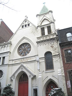 Yorkville, Manhattan - Zion-St. Mark's Evangelical Lutheran Church