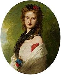 Portrait of Zofia Potocka