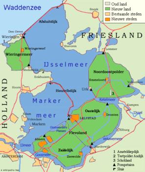 Niederlande Ijsselmeer Karte.Ijsselmeer Reiseführer Auf Wikivoyage