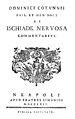 'De Ischiade Nervosa Commentarius' by Dominic Cotun Wellcome M0010468.jpg